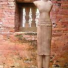 Statue of woman, My Son, Vietnam by Traveldreams
