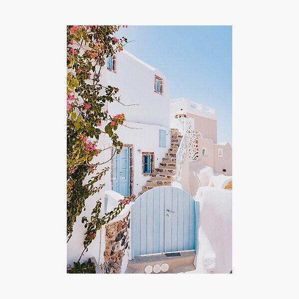 santorini viii / greece Photographic Print