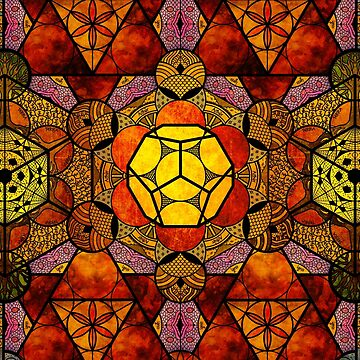 Sacred Geometry Mix- Platonic Solids by RAFAROMAN