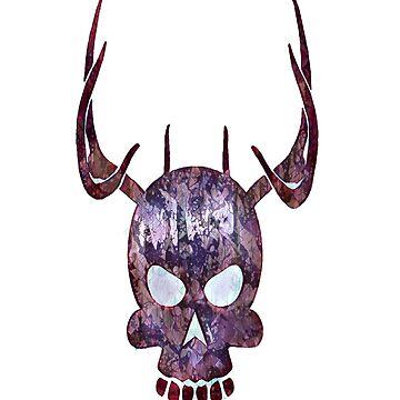 Skull Horns Tatto Halloween by AbdelaaliKamoun