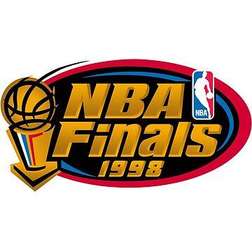 1998 Finals Retro Logo vs Michael Jordan Finale by 23jd45