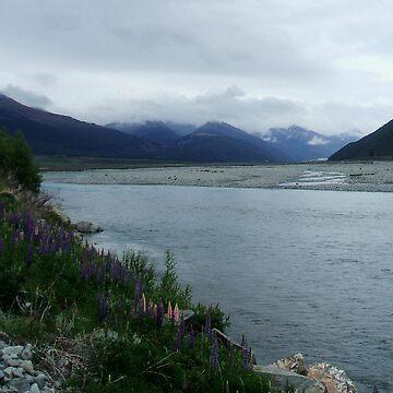 New Zealand Landscape by jesnowson
