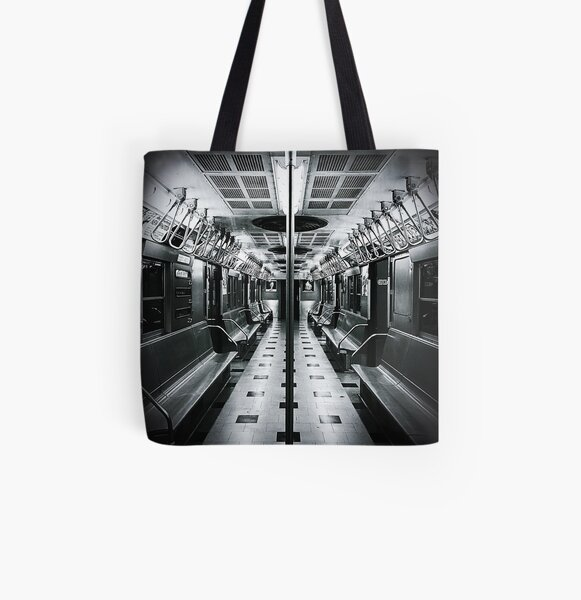 Middle Ground No. 3 - NYC Transit Museum All Over Print Tote Bag