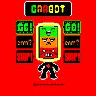 GARBOT Red Background by atombat