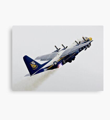 Fat Albert - Blue Angels Support Hurcules Canvas Print
