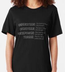 Worte der Weisheit Slim Fit T-Shirt