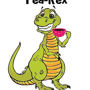 Tea-Rex by Vdubs59