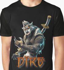 Dire Skin-Fortnite Graphic T-Shirt