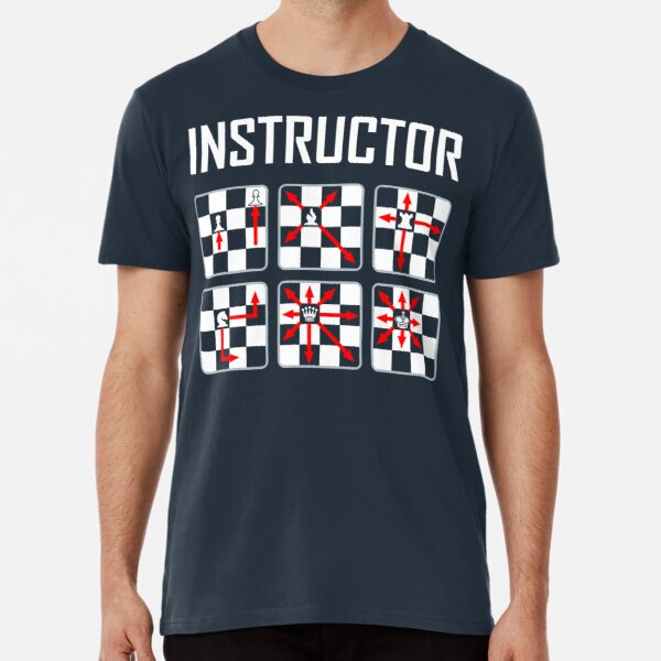 Chess Instructor Premium T-Shirt