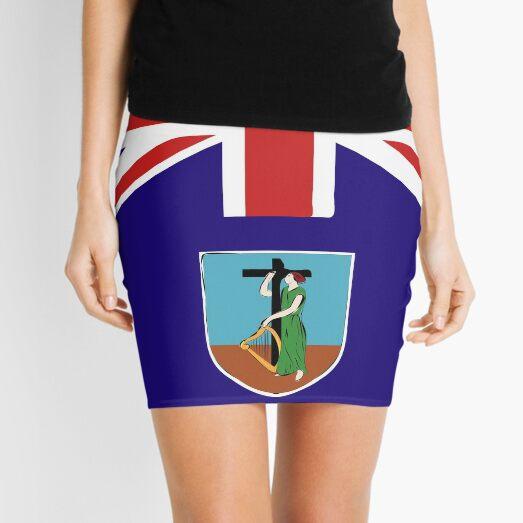 Montserrat flag emblem Mini Skirt