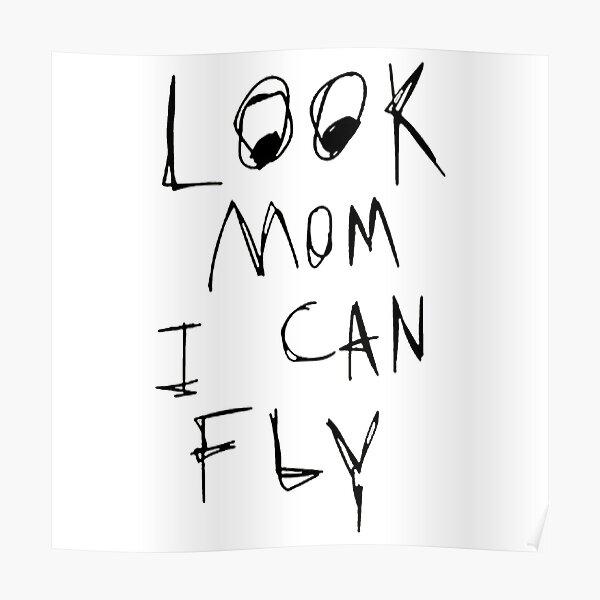 regarde maman je peux voler Poster