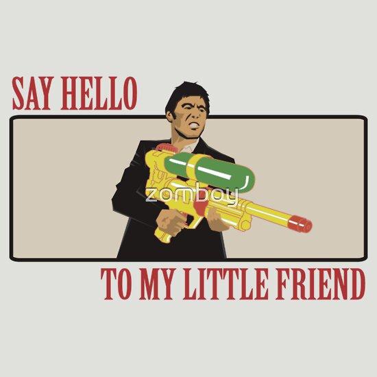 TShirtGifter presents: Say Hello