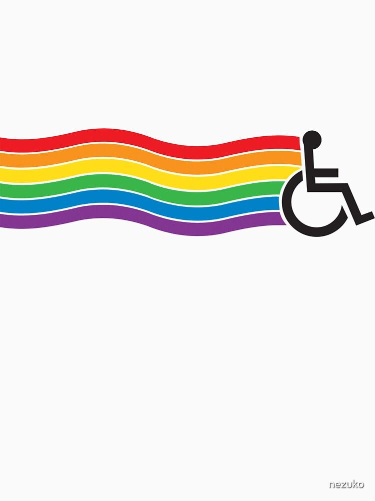 Wheelchair Pride by nezuko