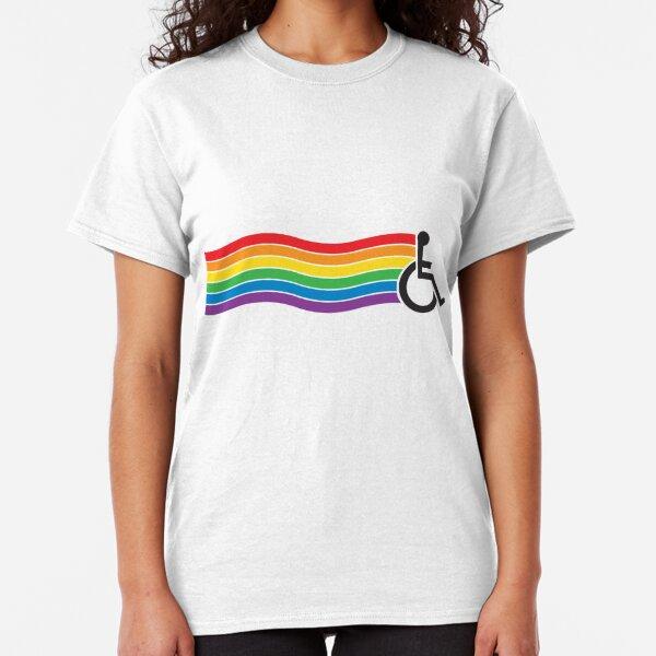 Wheelchair Pride Classic T-Shirt