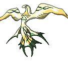 Quetzacoatl from Final Fantasy VIII pixel art by Sev4
