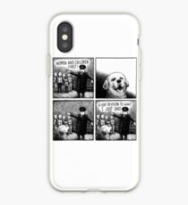 Dogs before women & children iPhone Case