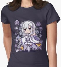 Chibi Emilia Women's Fitted T-Shirt