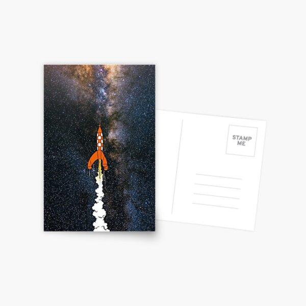Objectif: les étoiles Postcard