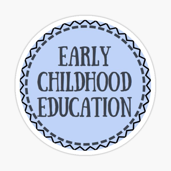 Early Childhood Education Sticker