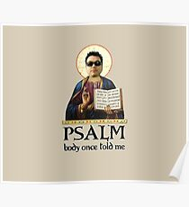 Psalm body Once Told Me... Poster