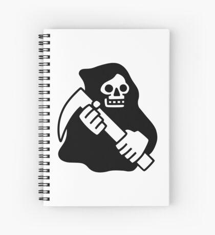 Death Spiral Notebook