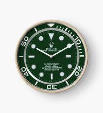 Rolex Green Clock