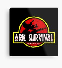 ark survival Metal Print