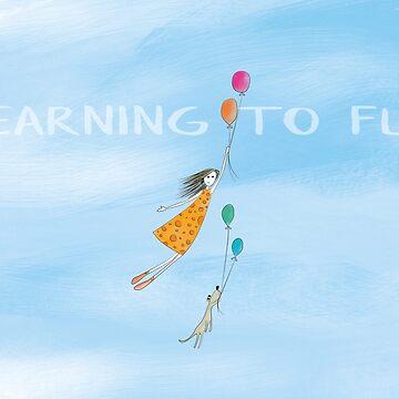 Traum von Fliegen von rauschsinnig