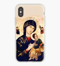 The Miraculous Painting of Our Mother of Perpetual Help iPhone Case
