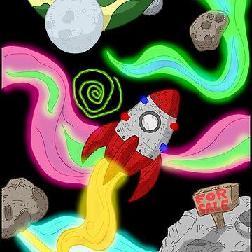 space travel... by kangarookid
