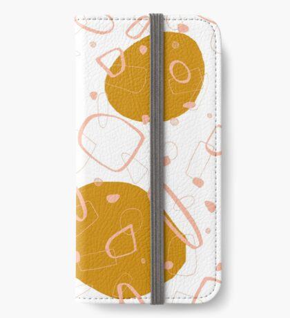 Doodle Pattern 03 #redbubble #doodle #pattern iPhone Wallet