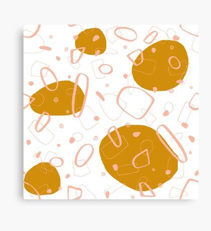 Doodle Pattern 03 #redbubble #doodle #pattern Canvas Print