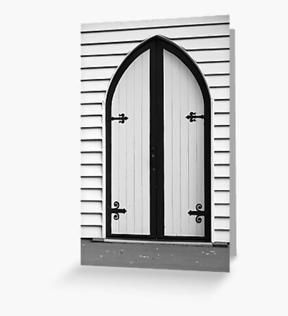 The Door Greeting Card