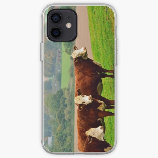 Bovins Hereford Coque souple iPhone