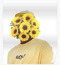 Póster las flores