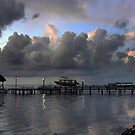 A Jetty Morning...Central America by graeme edwards
