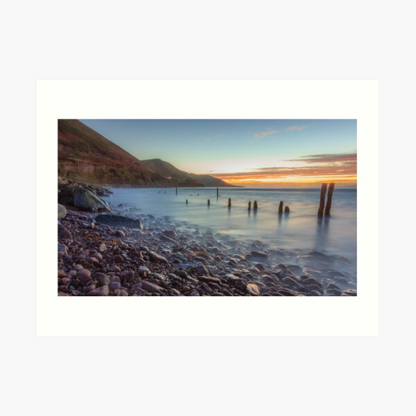 Rossbeigh Strand at Dusk Art Print