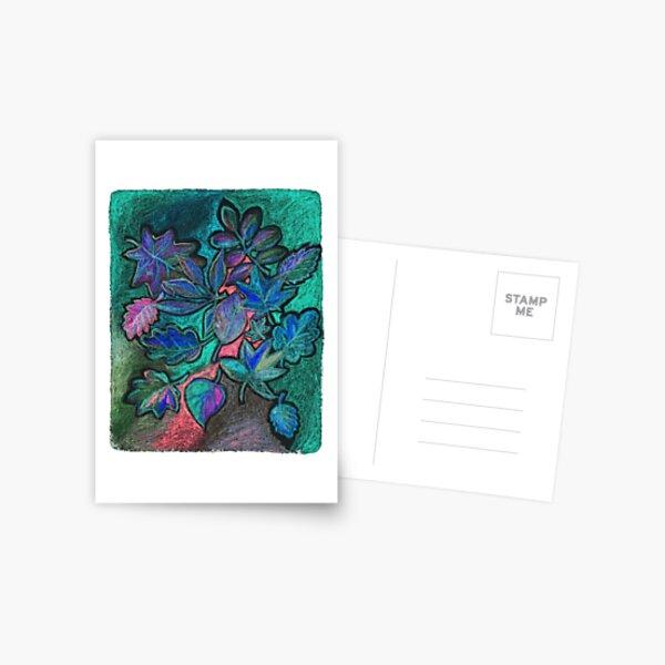 Ultraviolet night sheets Postcard