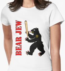 Bear Jew Inglorious Basterds (Bastards) Women's Fitted T-Shirt