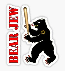Bear Jew Inglorious Basterds (Bastards) Sticker