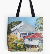 Wattle in Flower Tote Bag