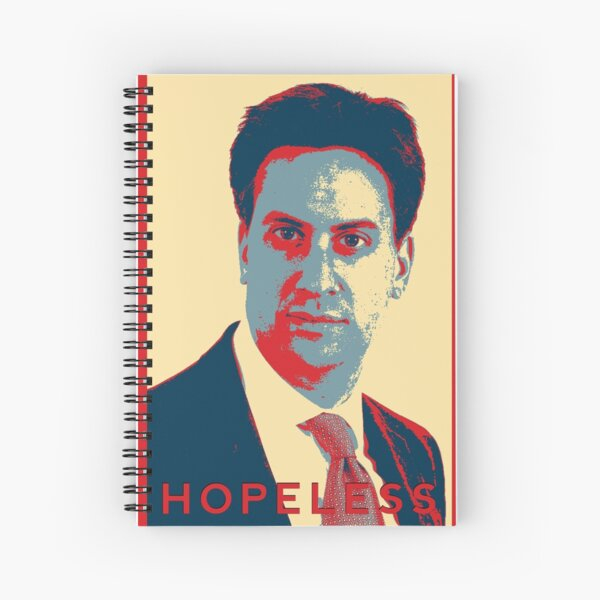 Ed Milliband - Hopeless Spiral Notebook