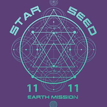 Starseed Scared Geometry Earth Mission 11:11 by RycoTokyo81