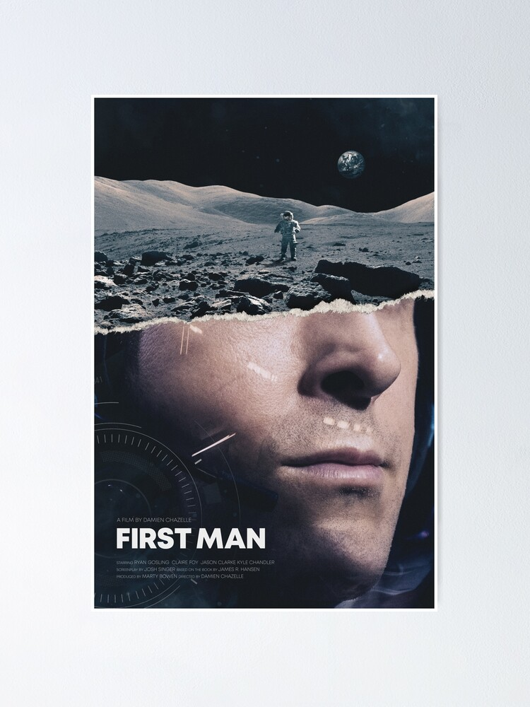 Alternate view of First Man Poster