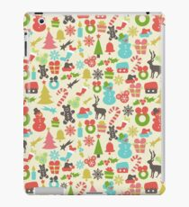 Hidden Mickeys Colorful Retro Disney Inspired Christmas iPad Case/Skin