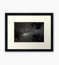 Milchstraße Gerahmtes Wandbild