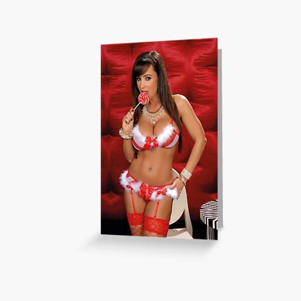 Lisa Christmas Ann Greeting Card