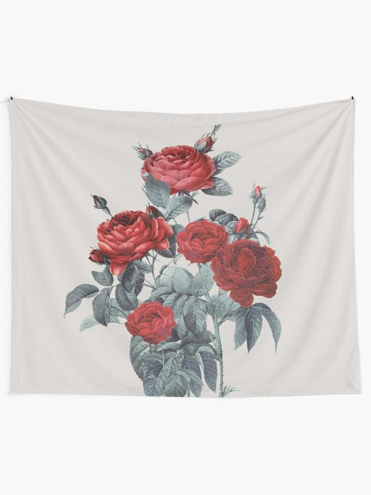 Alternate view of Minimal Redpassion Tapestry