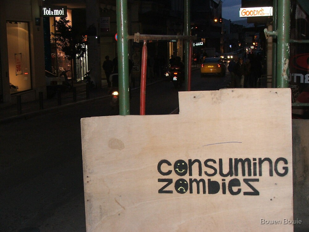 consuming zombies by Bowen Bowie-Woodham