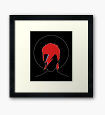 David Bowie Tribute Framed Art Print